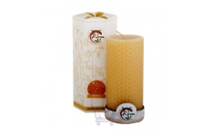 Beeswax Pillar Candle
